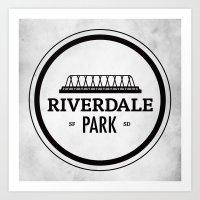 Riverdale Park Art Print