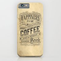 iPhone & iPod Case featuring Coffee - Typography v2 by tomekbiernat