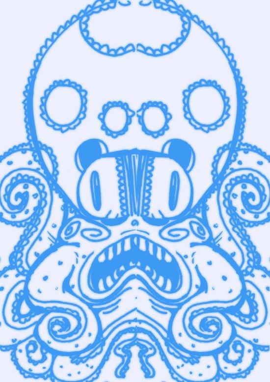 Fat Squid Art Print