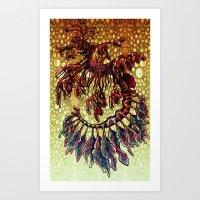 Leafy Sea Dragon 2 Art Print