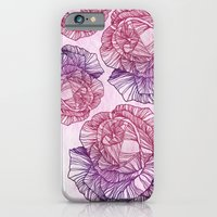 iPhone & iPod Case featuring Purple rose by Annike