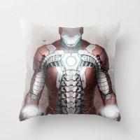 Mark V Throw Pillow