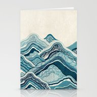 Blue Hike  Stationery Cards