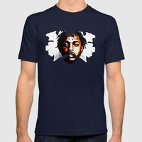 Butterfly Pimping Mens Fitted Tee Navy SMALL