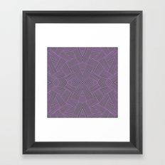 Violet Ultra Framed Art Print
