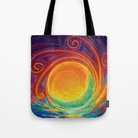 Sun Moon & Stars Tote Bag