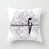 Free As A Bird Throw Pillow