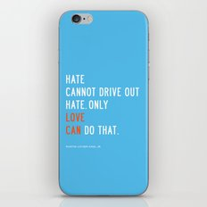 Love Can Quote iPhone & iPod Skin