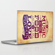 Laptop & iPad Skin featuring Food Of Love  by Rollerpimp