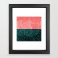 Mozaik Framed Art Print