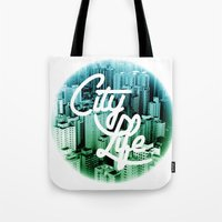 CityLife Tote Bag
