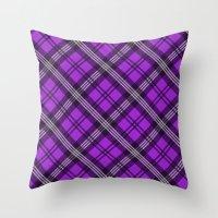 Scottish Plaid (Tartan) … Throw Pillow