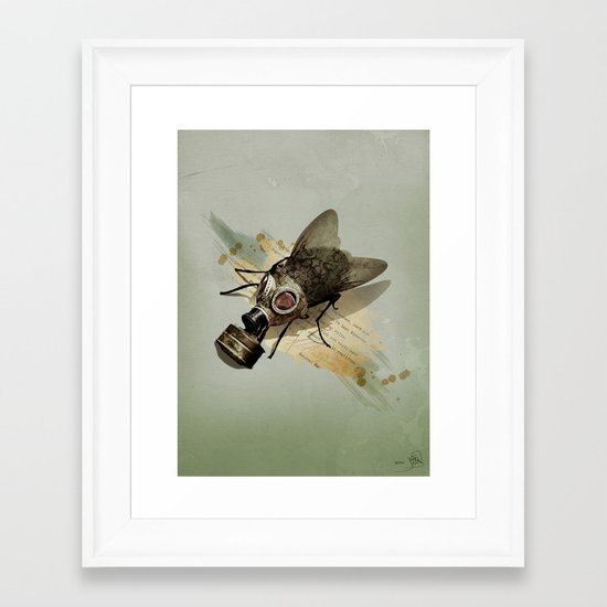 Pretty Dirty Little Thing Framed Art Print