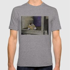 IKEA Monkey Mens Fitted Tee Athletic Grey SMALL