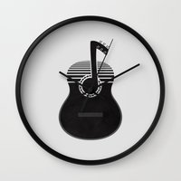 Classical Notes Wall Clock
