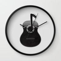Classical Notes Wall Clock