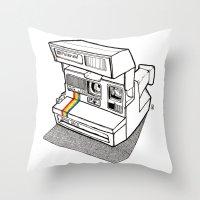 Polaroid Spirit 600 CL Throw Pillow