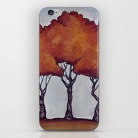 Fall Crepe Myrtles iPhone & iPod Skin