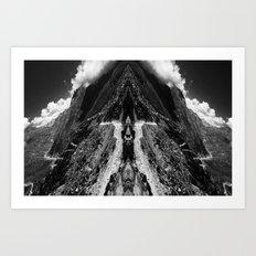 Lift off Art Print