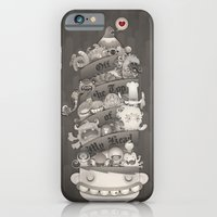 iPhone & iPod Case featuring Off the Top of My Head by wanton doodle