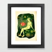 Divina Melancholia Framed Art Print