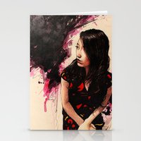 Nothing Is Ever Left Outstanding Stationery Cards