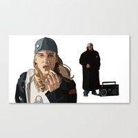 Jay and Silent Bob, Clerks 2 Canvas Print