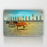 EASTER ISLAND SCENE Laptop & iPad Skin
