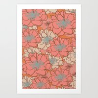 Loud Floral Art Print