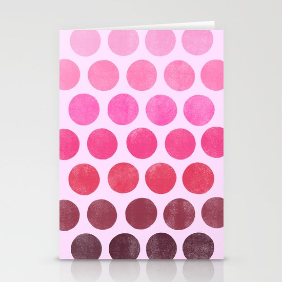 Color Play Pink Stationery Card