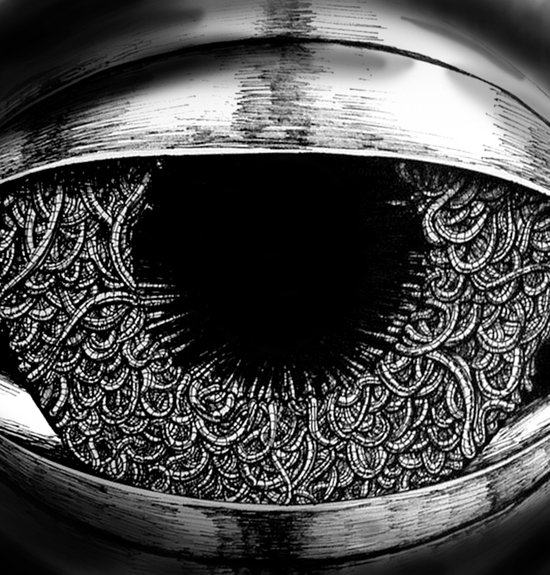Ominous Eye Art Print