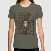 The F Situation Womens Fitted Tee Lieutenant SMALL