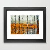 Forest In Art Framed Art Print