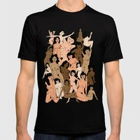 Lovely Ladies Mens Fitted Tee Black SMALL