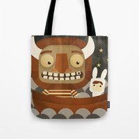 Where The Wild Things Ar… Tote Bag
