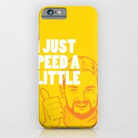 iPhone & iPod Case featuring I Just Peed A Little by Tuff Industries