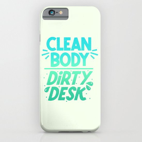 Clean/Dirty, Volume 2 iPhone & iPod Case