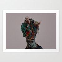 Undisclosed Desires Art Print
