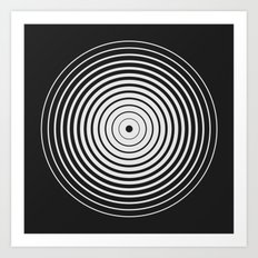 #563 strokeWeight Art Print