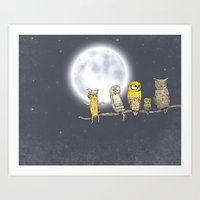 Try Blend Into Art Print