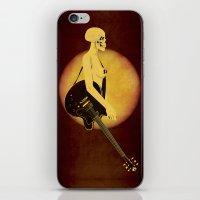 Skull Of Rock iPhone & iPod Skin