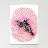 mother bird Stationery Cards