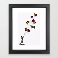Fear And Loathing In The… Framed Art Print