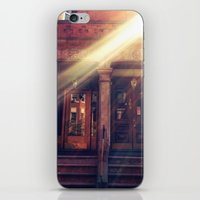 Doors with Flare iPhone & iPod Skin