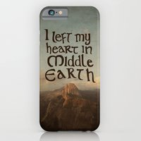 I Left My Heart in Middle Earth iPhone 6 Slim Case