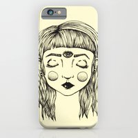 iPhone & iPod Case featuring Third Eye by Ellie Craze