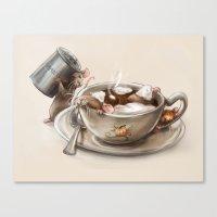 Pumpkin Spice Latte Canvas Print