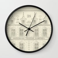 Provincial Trading Co's General Office Wall Clock