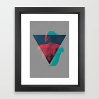 Irezumi Framed Art Print