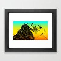Ghazala Framed Art Print